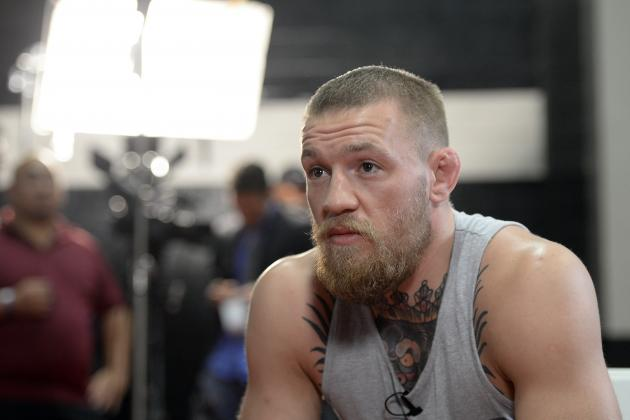 Conor McGregor Curses at TMZ Photographer over Nate Diaz, 'Whoop Jesus' Comments