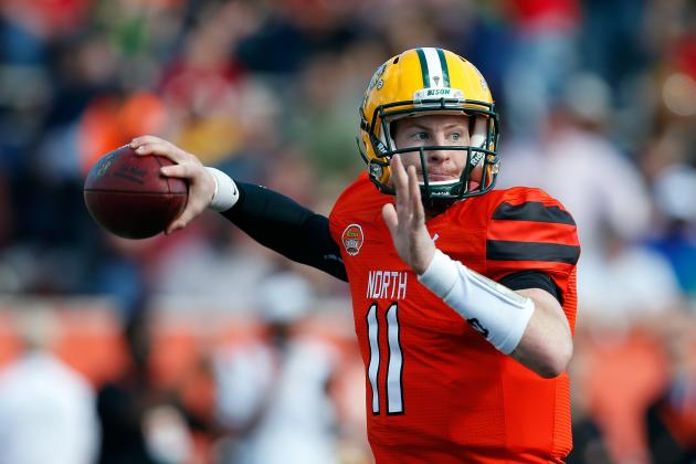 Carson Wentz Comments on Skill Set, Improvement, More at 2016 NFL Combine
