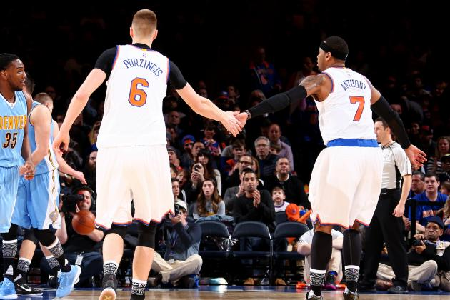 Kristaps Porzingis Comments on Carmelo Anthony's Frustration with Knicks