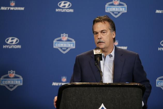 Jeff Fisher Comments on Case Keenum, Nick Foles, Rams' QB Situation