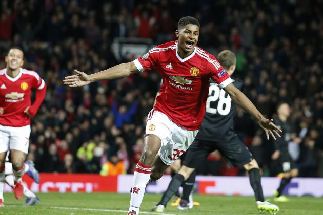 Louis van Gaal Talks Marcus Rashford Advice After 2-Goal Manchester United Debut