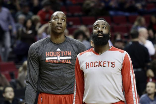 Tad Brown Denies James Harden Asked for Dwight Howard Trade, Kevin McHale Firing