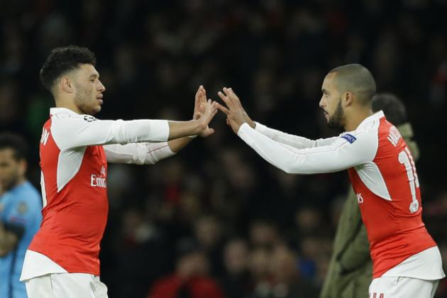 How Arsenal Should Replace the Injured Alex Oxlade-Chamberlain at Old Trafford