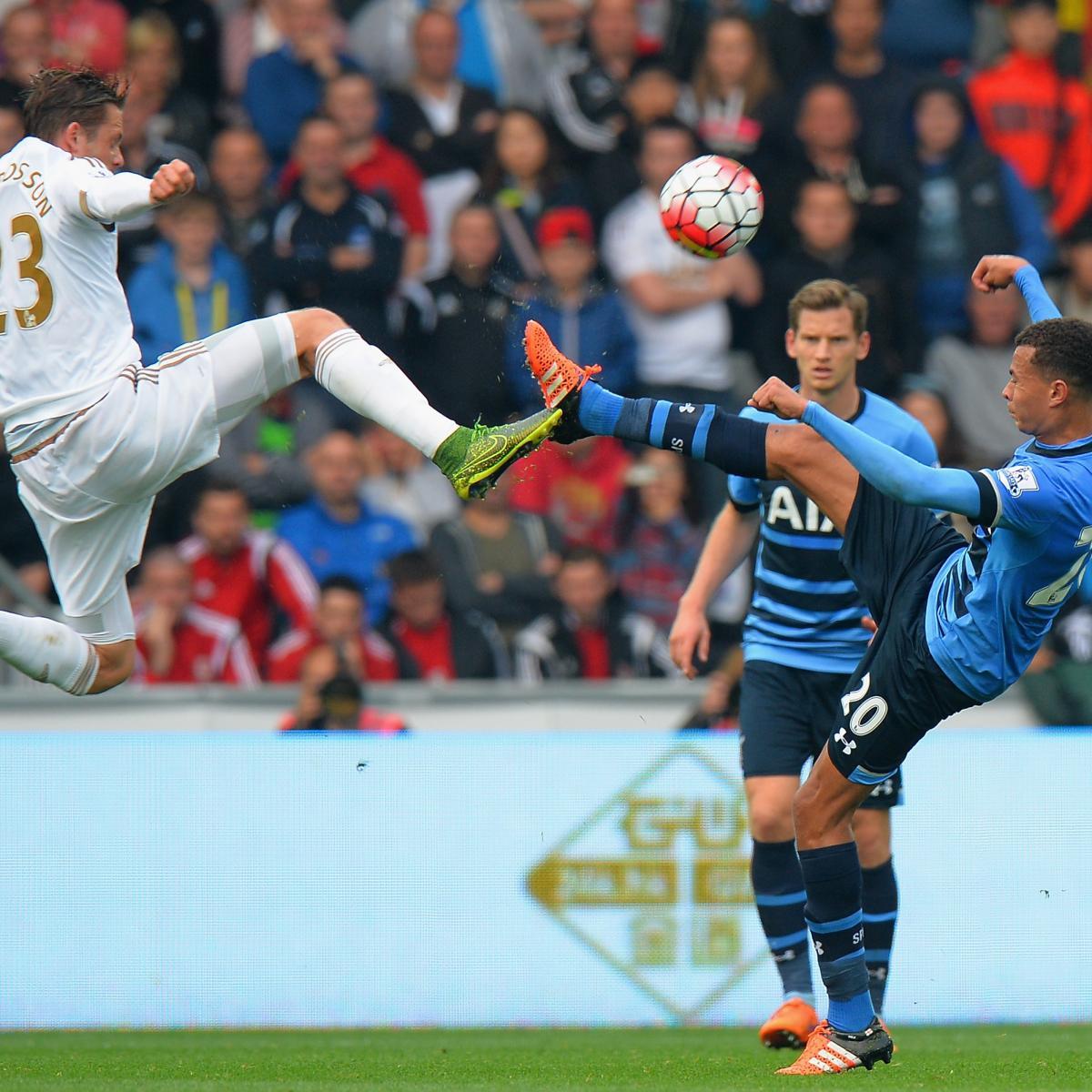 Tottenham Hotspur Vs Man United Tickets: Tottenham Vs. Swansea: Team News, Live Stream, TV Info