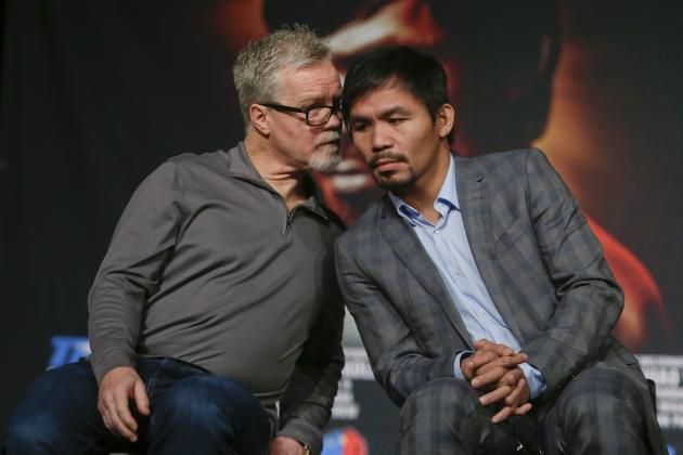 Manny Pacquiao Competing in 2016 Olympics 'Unrealistic,' Says Bob Arum