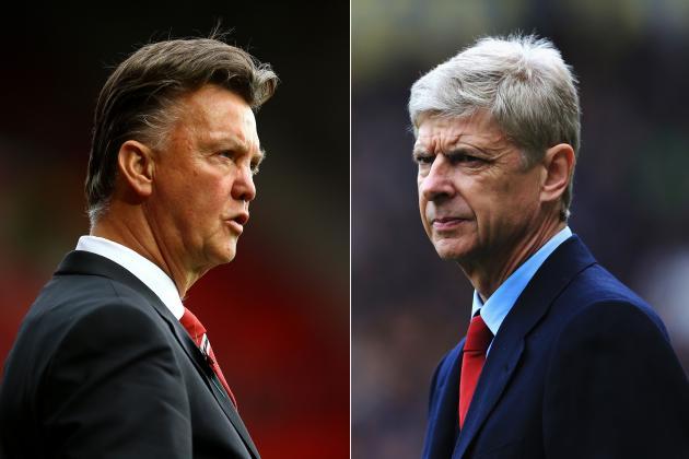 Louis Van Gaal vs. Arsene Wenger: Breaking Down the Manager Battle