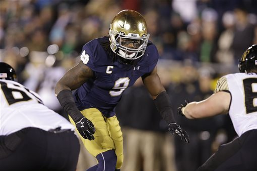 Jaylon Smith Injury Update: NFL Draft Prospect Expected to Miss 2016 Season