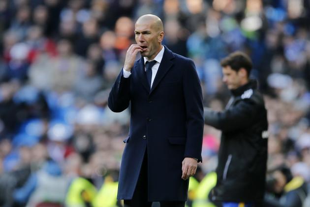 Zinedine Zidane Comments on Real Madrid's La Liga Title Challenge