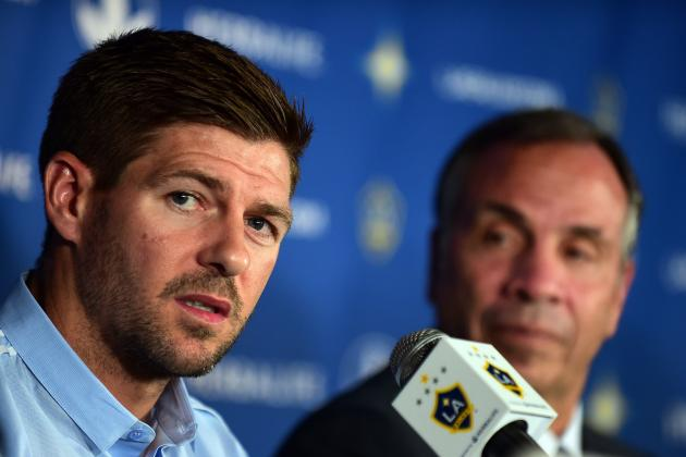 Galaxy Boss Rescheduled Flights so Steven Gerrard Can Watch League Cup Final