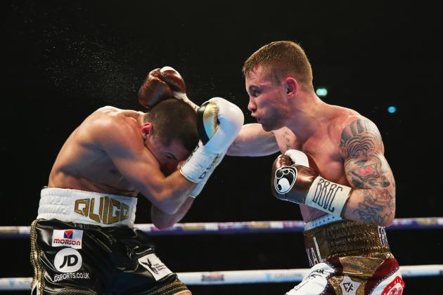 Carl Frampton vs. Scott Quigg: Winner, Scorecard and Reaction