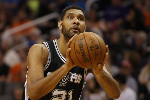 Tim Duncan Becomes 5th Player in NBA History with 3,000 Career Blocks
