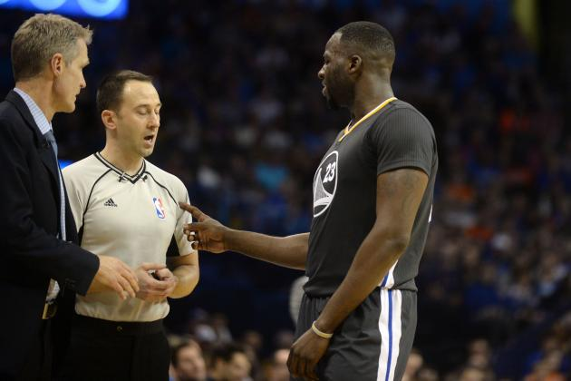 Draymond Green, Steve Kerr Comment on Star's Halftime Rant vs. Thunder