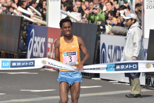 Tokyo Marathon Results 2016: Men's and Women's Top Finishers