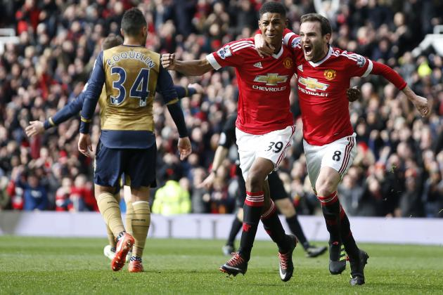 Manchester United vs. Arsenal: Score, Reaction from 2016 Premier League Match