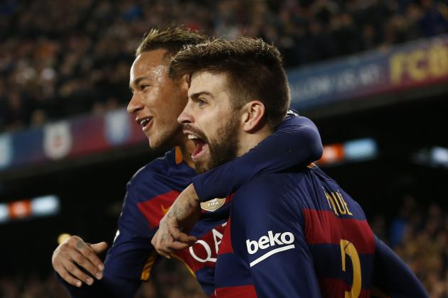 Barcelona Transfer News: Neymar to Real Madrid Rumours Dismissed by Gerard Pique
