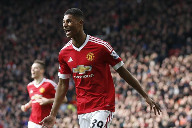 Louis Van Gaal Compares Marcus Rashford to Thomas Muller After Arsenal Win