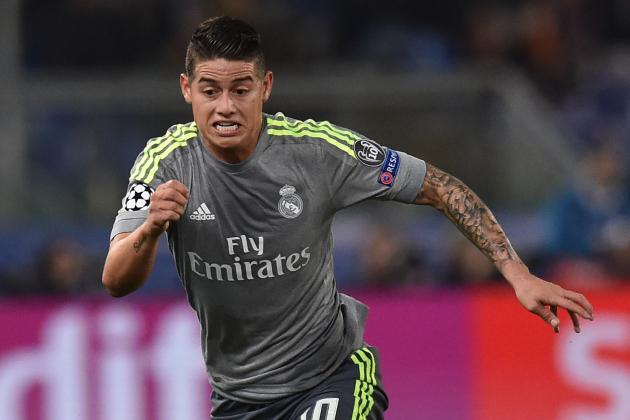 Real Madrid Transfer News: James Rodriguez's Father Speaks Amid Exit Rumours