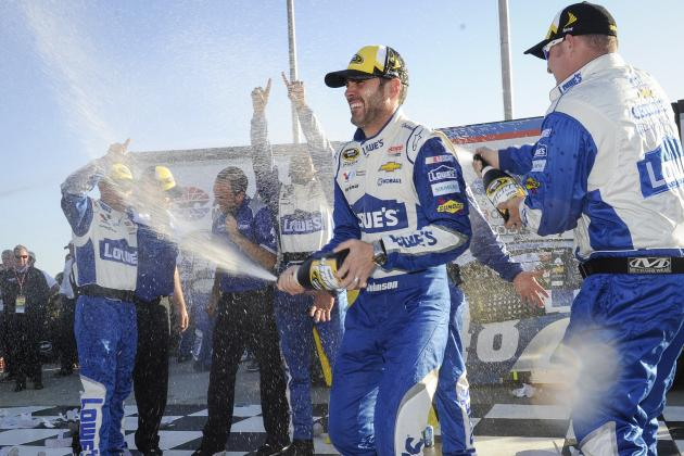Jimmie Johnson Ties Earnhardt Victory Mark as NASCAR Returns to Normal