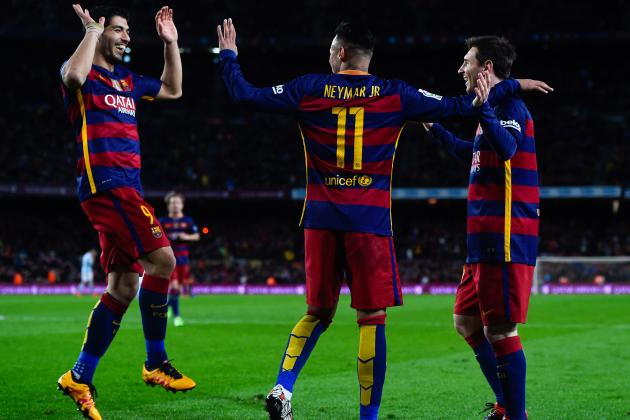 Luis Suarez Says He'd Love to Have Lionel Messi's Left Foot and Neymar's Pace