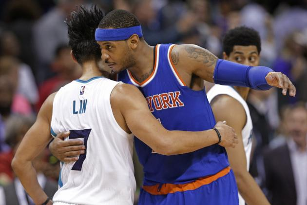 Carmelo Anthony Responds to Amar'e Stoudemire Comments on Time with Knicks