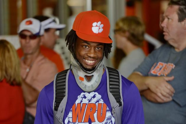 Mike Williams Injury: Updates on Clemson WR's Neck and Recovery