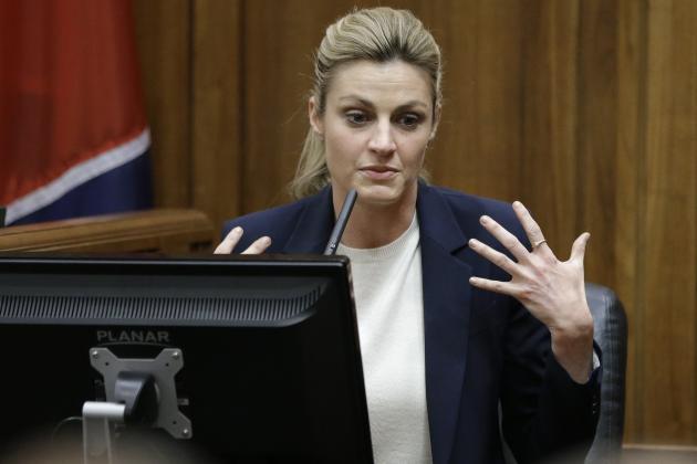 Erin Andrews Testifies in Lawsuit Against Stalker