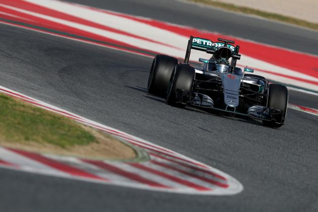 Formula 1 Pre-Season Testing 2016: Times and Tuesday Analysis from Barcelona