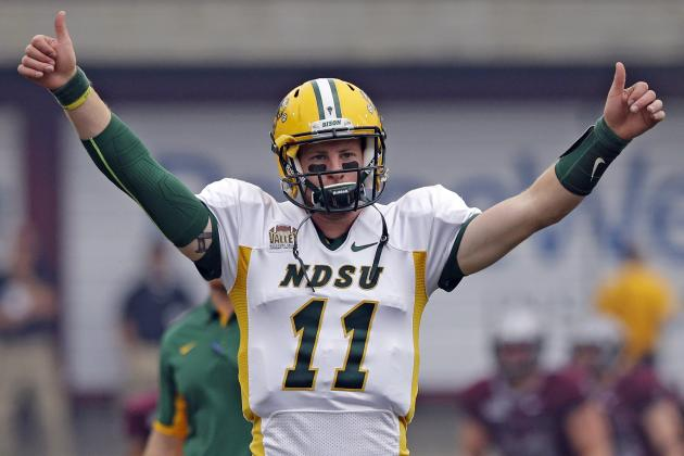 North Dakota State Offensive Coordinator Explains Carson Wentz's Draft Ascension