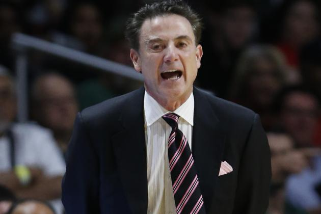 Rick Pitino Comments on Future at Louisville Amid Escort Scandal
