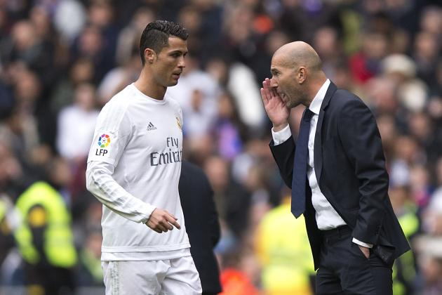 Zinedine Zidane Comments on Cristiano Ronaldo, Real Madrid Team Spirit