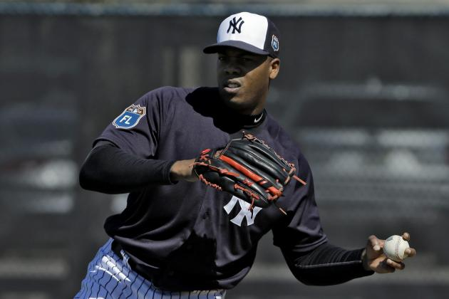 Rob Manfred Takes Stand on Domestic Violence with 30-Game Aroldis Chapman Ban