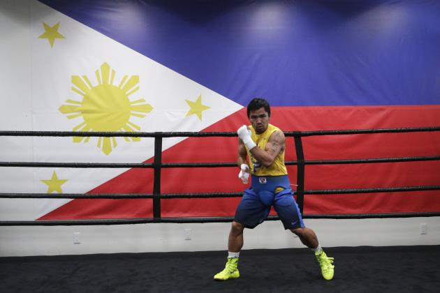 Manny Pacquiao Comments on Potential Run for Rio Olympics Gold Medal
