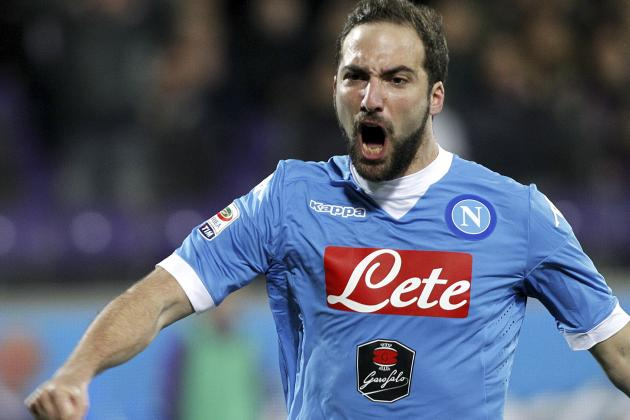 Manchester United Transfer News: Gonzalo Higuain Targeted, Latest Rumours
