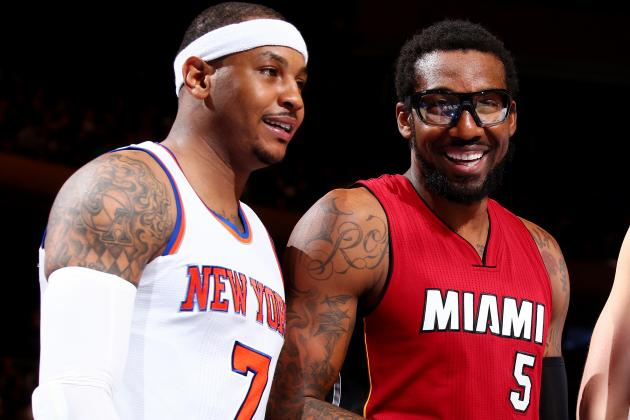 Amar'e Stoudemire Denies Comments on Knicks Tenure Were About Carmelo Anthony