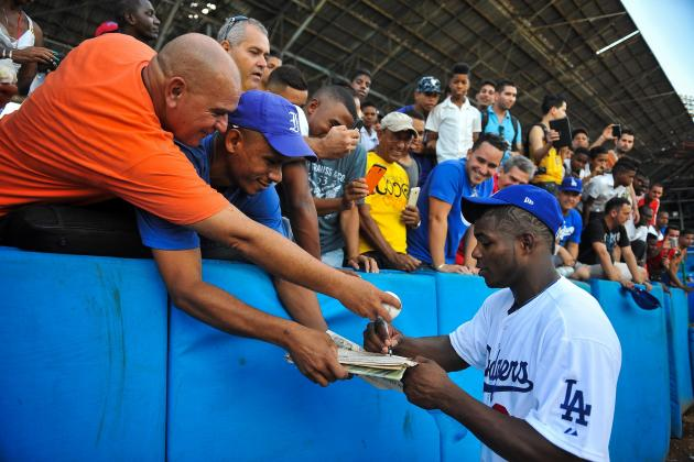 MLB Proposes Plan for Cuban Baseball Players to Sign Directly with Teams
