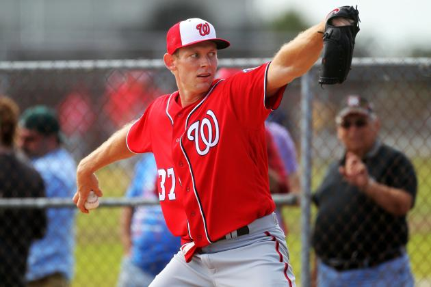 Stephen Strasburg Pitches for Elusive Ring and Big 'Pot of Gold' in 2016