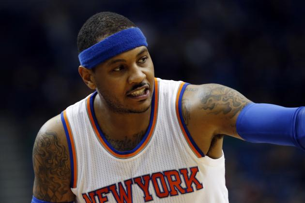 Carmelo Anthony Releases Statement About Comments Made to Heckler for Refund