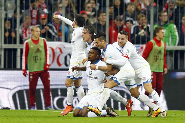 Bayern Munich vs. Mainz: Score, Reaction from 2016 Bundesliga Match