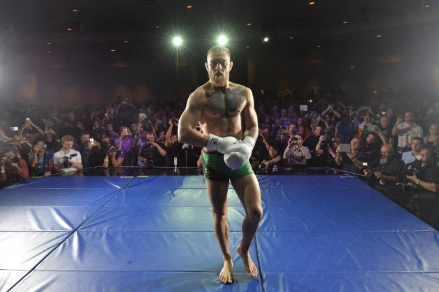 Conor McGregor Rips Nate Diaz, Comments on Next Fight and Robbie Lawler
