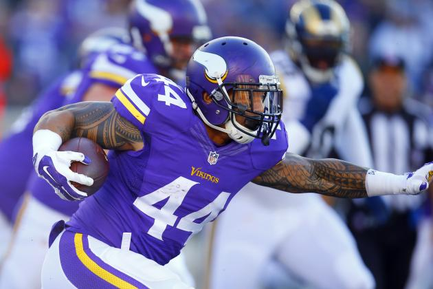 Matt Asiata Re-Signs with Vikings: Latest Contract Details, Comments, Reaction