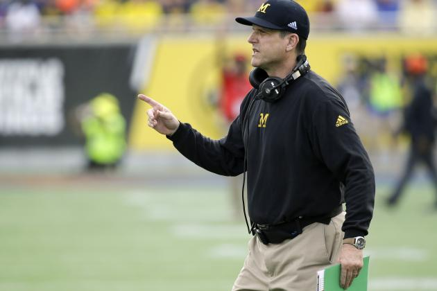 Jim Harbaugh Responds to Butch Jones' Joke About Michigan's Spring Practice
