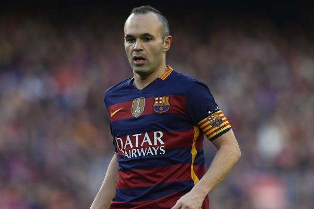 Andres Iniesta Imperious as Record-Breaking Barcelona Move Step Closer to Title