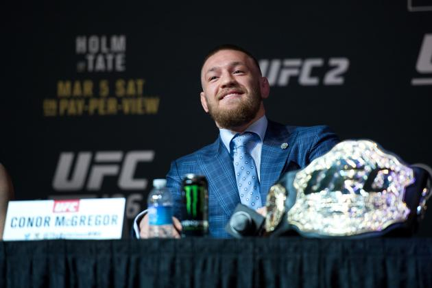 Dana White Open to Conor McGregor Pursuing Lawler's UFC Welterweight Title