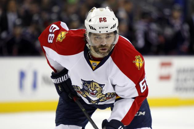Jaromir Jagr Ties Gordie Howe for 3rd Place on NHL All-Time Points List