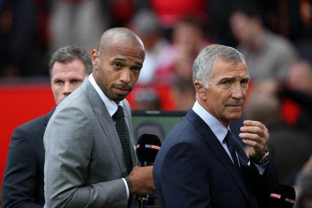 Thierry Henry Comments on Arsenal, Tottenham Ahead of North London Derby