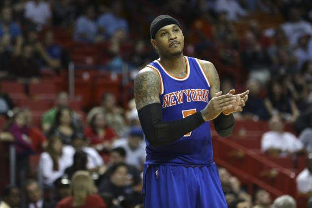 Carmelo Anthony Comments on Struggles with Losing