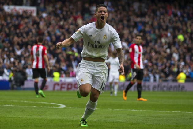 Manchester United Transfer News: Zinedine Zidane Quashes James Rodriguez Rumours