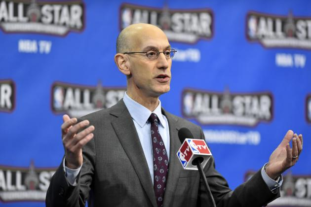 Adam Silver Comments on Stephen Curry, 3-Point Line and More