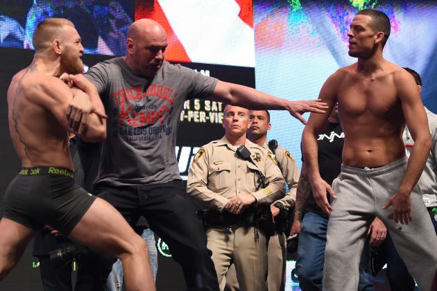 McGregor vs. Diaz: UFC 196 Expected to Generate One of Largest Gates in History