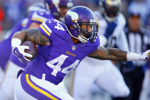 Matt Asiata Re-Signs with Minnesota Vikings